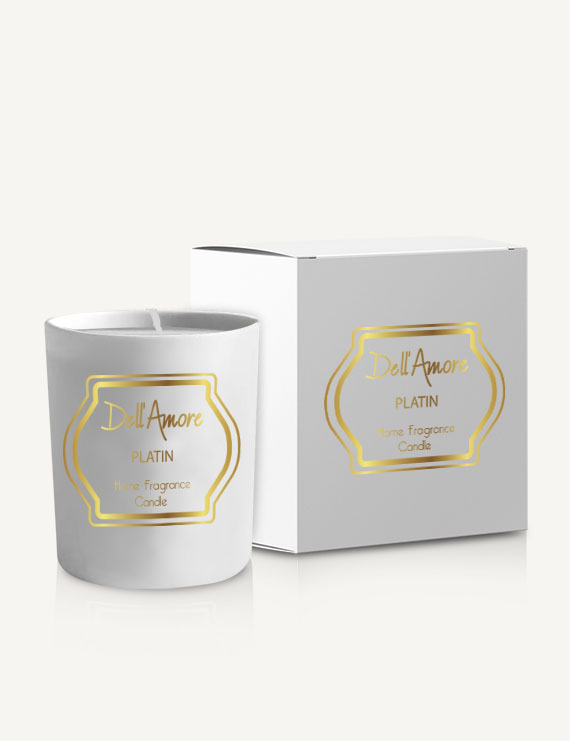 Dell Amore Platin Candle