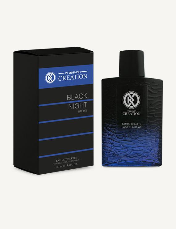 Kreasyon Creation Black Night For Men