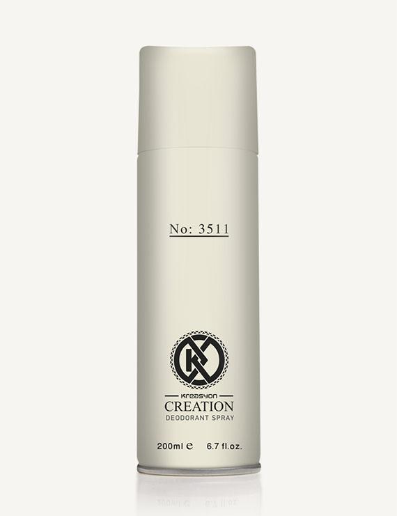 Kreasyon Creation No-3511 For Men Deodorant