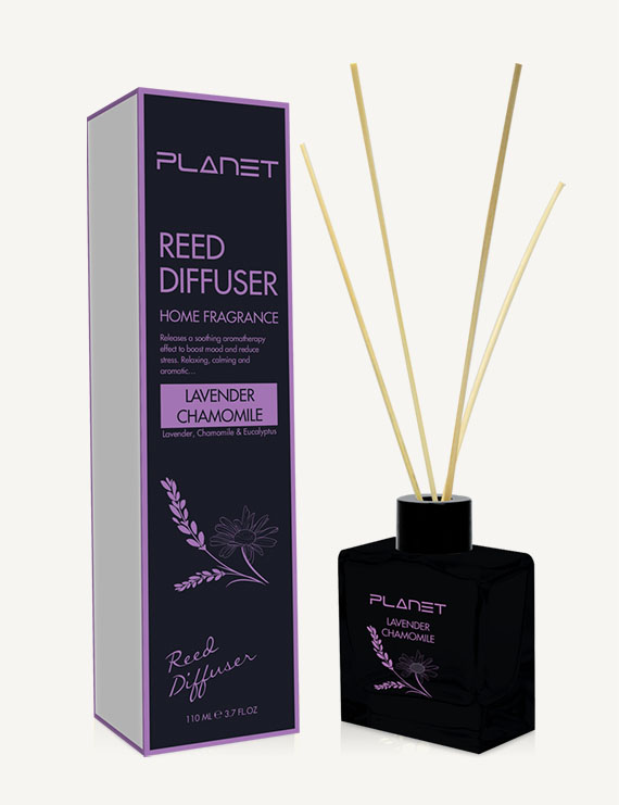 Planet Lavender Chamomile Reed Diffuser