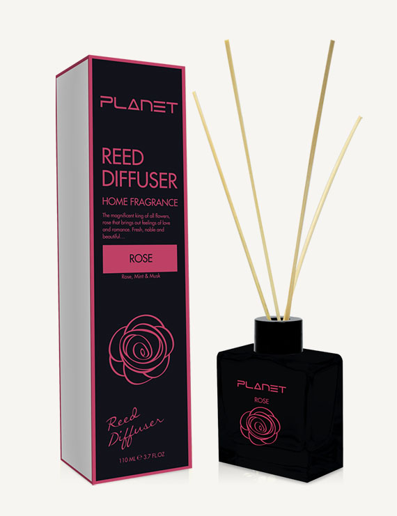Planet Rose Reed Diffuser